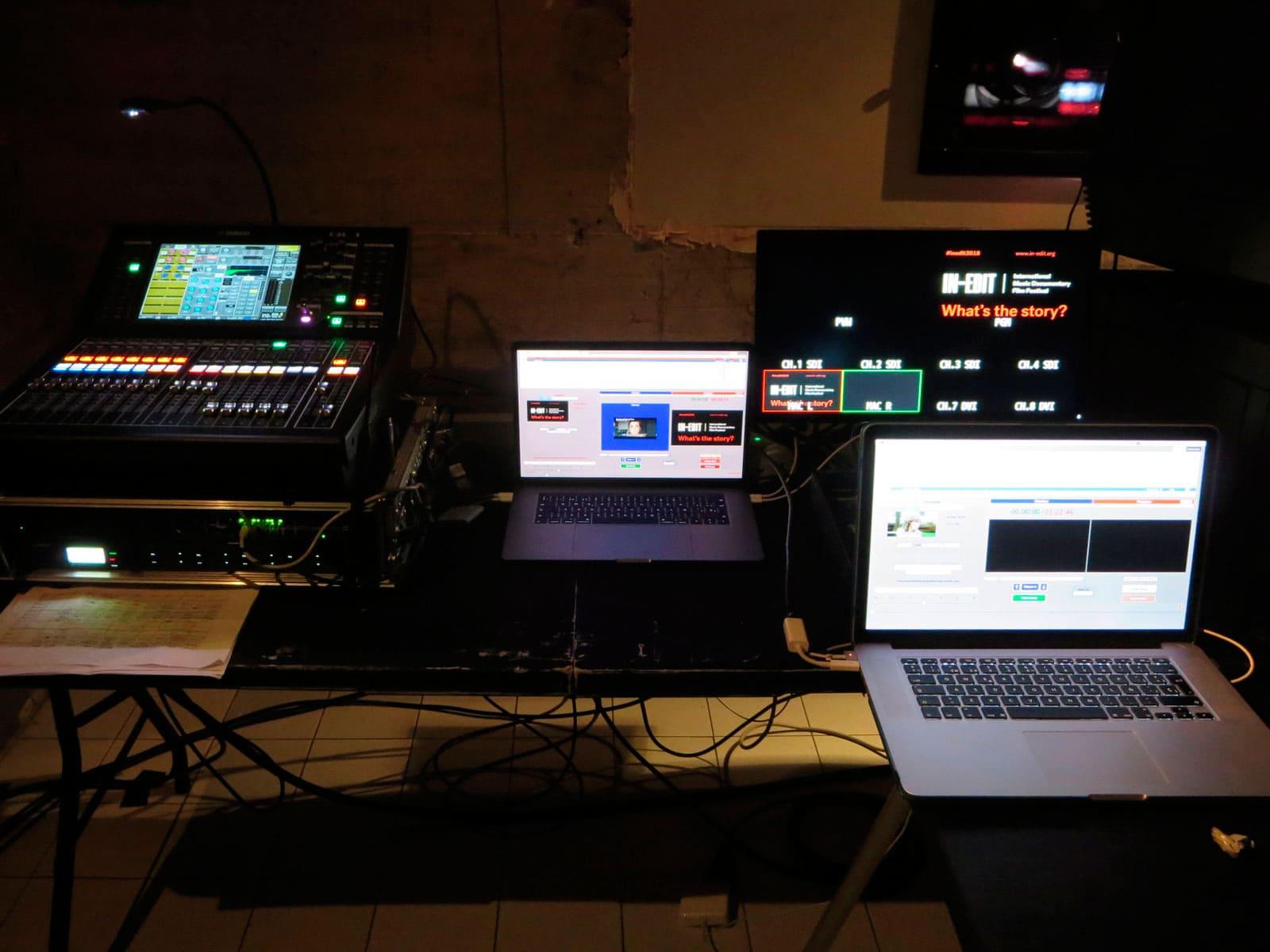 esdeveniments eventos - videoproyección videprojecció