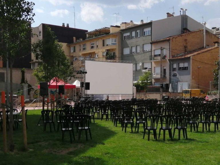 Esdeveniments - Eventos - Videoprojecció - Videoproyección - Sonorització - Sonorización
